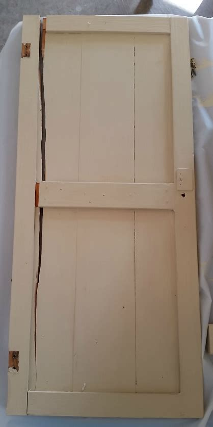 how to fix a cabinet door that fell silo hill farm sign