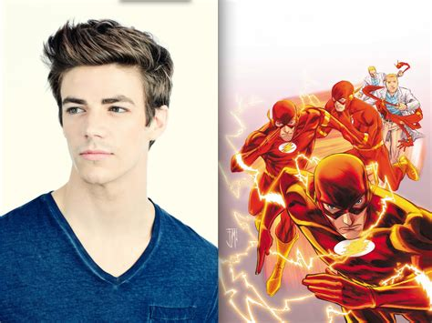 actor the flash glee actor cast as the flash in upcoming episodes of