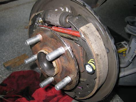 Toyota Corolla Brakes How To Change Rear Drum Brakes On 2006 Toyota Corolla