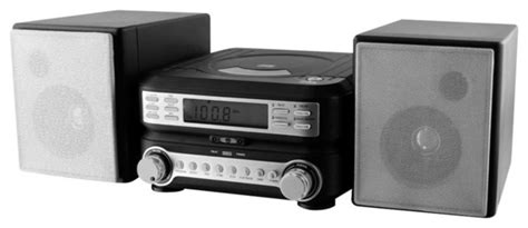 Radio Mit Cd 2389 by Gpx Compact Cd Player Stereo Home System With Am Fm