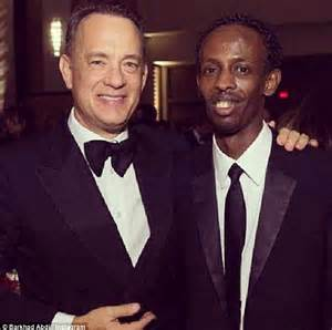 Tom Hanks Criminal Record Captain Phillips Barkhad Abdi Stopped By Immigration Daily Mail