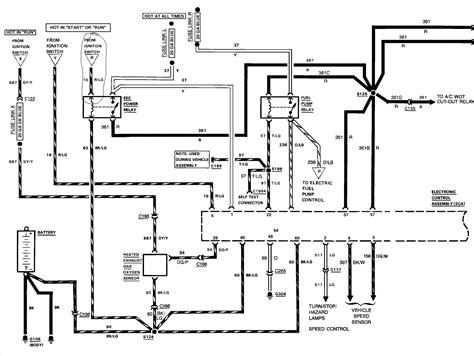 ford fuel system diagram wiring diagram