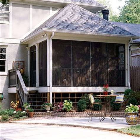 Hip Roof Porch Addition Real Porch Additions Porches Screened Porches And