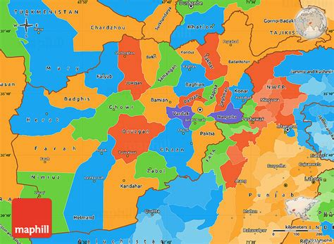 political map of afghanistan political simple map of afghanistan
