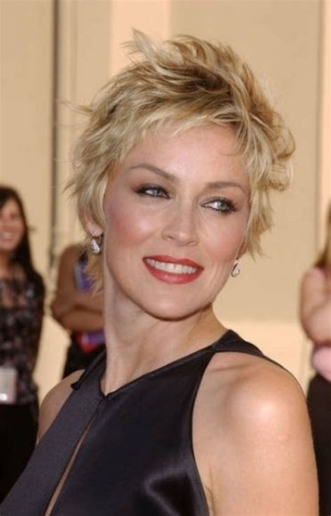 short hair styles for women over 50 with round faces short shaggy hairstyles for women over 50 fave hairstyles