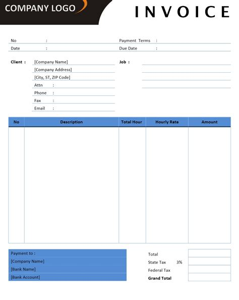 template office invoice templates office 365 invoice templates