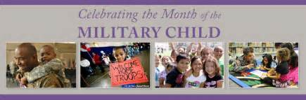 The month of the military child april 2015