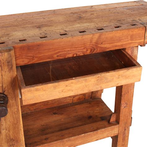 italian rustic rustic italian carpenter s workbench omero home
