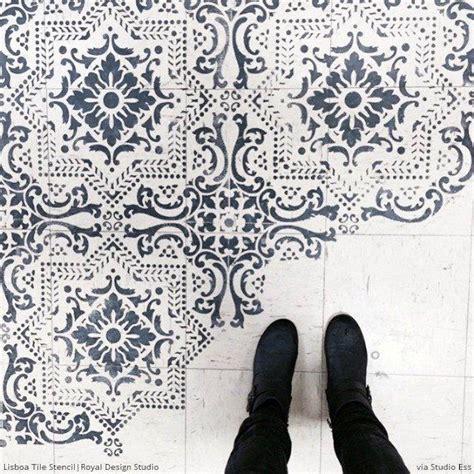 tile floor template 25 best ideas about linoleum flooring on
