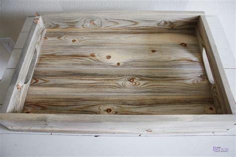 wood tray diy diy rustic tray building beingbrook