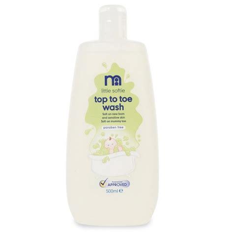 Sabun Wash mothercare top to toe wash sabun mandi cair aman utk newborn