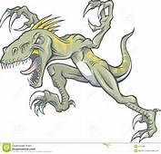 Raptor Dinosaur Illustration Royalty Free Stock Photo  Image 2375395