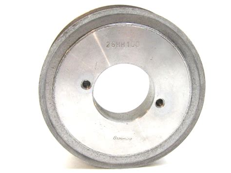 browning 26hh100 series h bushing bore timing belt pulley