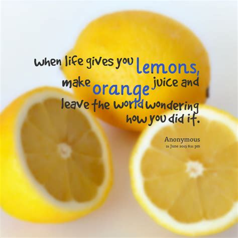 Do You Lemons From Oranges by Orange Quotes Quotesgram
