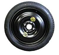 mini cooper spare tire space saver 15in 4 lug
