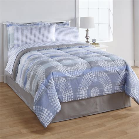 Kmart Bedding Set Essential Home Complete Bed Set Retro Circles