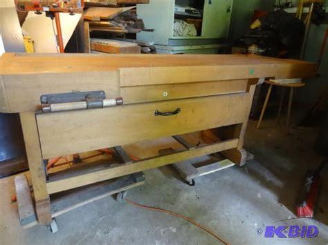 ulmia bench ulmia ott work bench highly desireable 2 dr k c