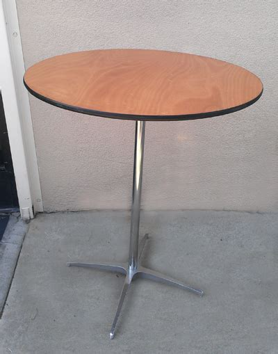 36 inch cocktail tables for rent from anytime rentals