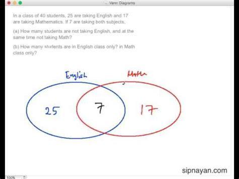 how to solve venn diagram venn diagrams in solving math word problems part 2