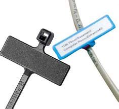 Cable Ties With Label Tag Pengikat Kabel Dg Label Tag 25 X 110 Mm cable labels wire markers and label printers
