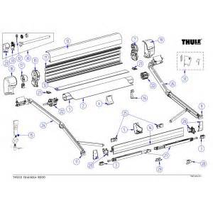 omnistor awning spare parts thule awnings spare parts