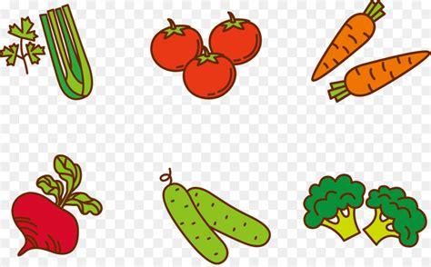 Fruit Vegetable Cartoon Clip art   Vector vegetables 2507