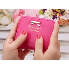 Coin Pouch Animal Design Dompet Koin Dompet Uang dompet kecil wanita yellow jakartanotebook