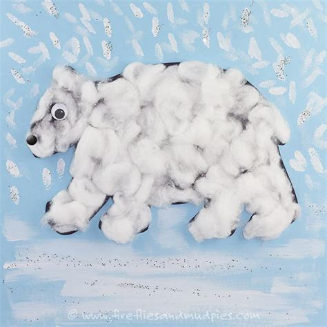 Printable Polar Bear Craft   AllFreeKidsCrafts.com