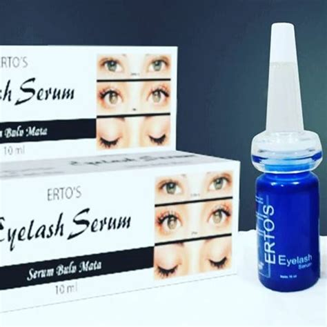 Ertos Eyelash Serum Harga ertos eyelash serum original bpom pusat stokis agen
