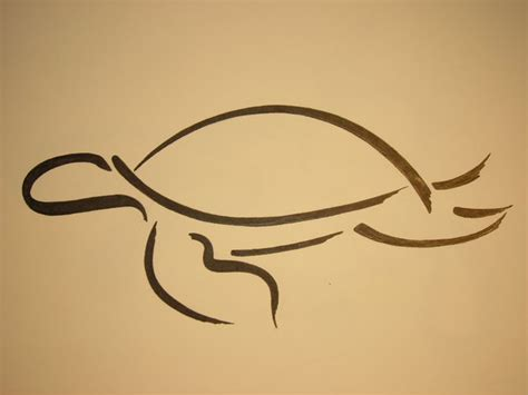 tribal outline tattoo designs 34 simple turtle tattoos designs and pictures