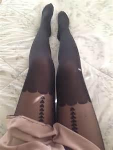 Kitsch Kitchen Accessories - heart suspender stockings on storenvy