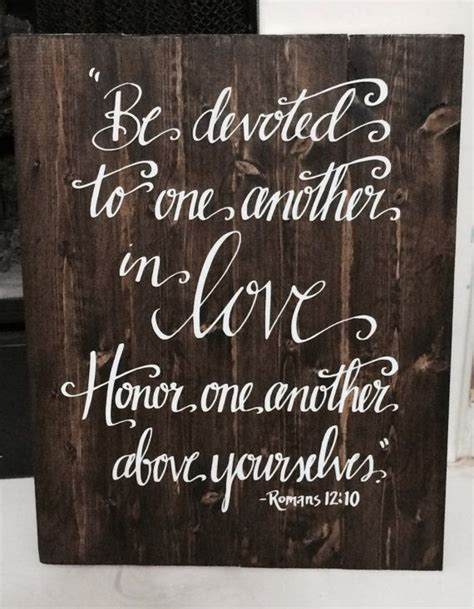 Wedding Bible Verses by Wedding Sign Bible Verse Sign Be Devoted To By