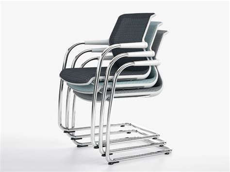 Vitra Style Chairs by Cantilever Stackable Chair Unix Chair By Vitra Design