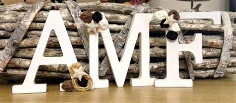 lettere decorate lettere di legno decorate a mano con tessuto per la