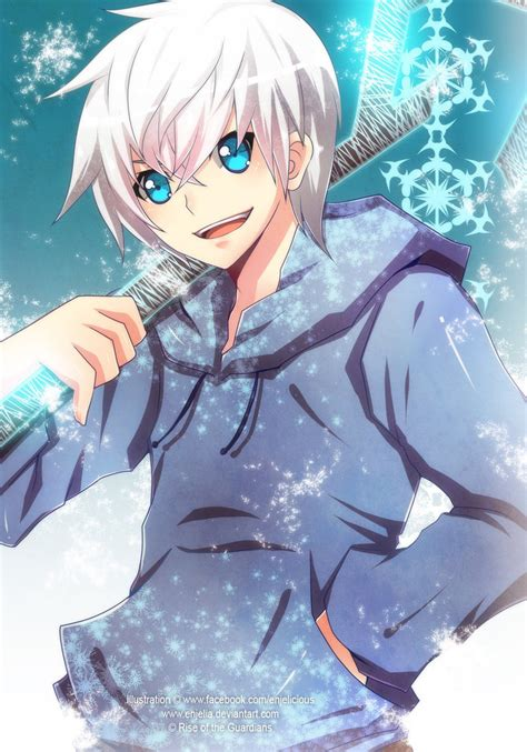 anime frost jack frost by enjelia on deviantart