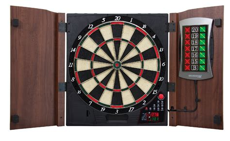 Electronic Dart Boards With Cabinet by Escalade Bullshooter Cricket Maxx 2 0 Electronic Dartboard