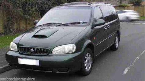 2000 Kia Sedona by Kia 2000 Sedona Exec Td Auto Green Car For Sale