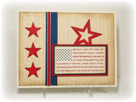 Independence Day Handmade Cards - 168 best images about cards july 4th on