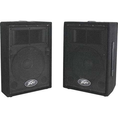 peavey pvi 10 10 pa speaker cabinet pair peavey pvi 10 2 way speaker system pair 00570810 b h photo