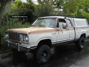 1978 dodge d150 adventurer 440 club cab 4x4