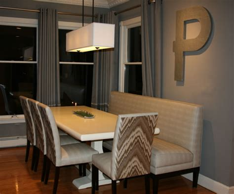 Residential Banquettes JackieP banquette Dining Room