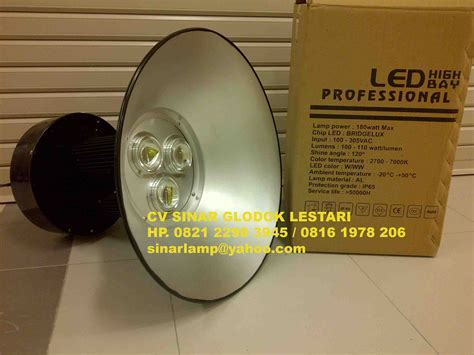Lu Sorot Kolam lu industri lu industri led hdk high bay 180w bridgelux