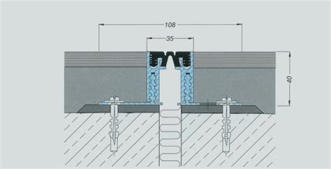 giunti di dilatazione per pavimenti terrazzi joint srl products expansion joints installation