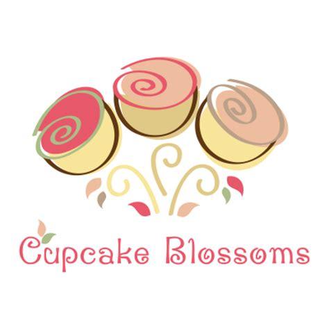 cupcake blossoms logo design gallery inspiration logomix