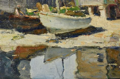 a b lobster house lot 190 anthony thieme o b rockport lobster house