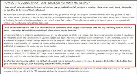 Disclaimer For Amazon Associates Termsfeed Affiliate Link Disclosure Template