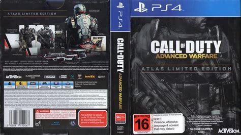 Kaset Pa4 Call Of Duty Infinite Warfare call of duty advanced warfare atlas limited edition dvd