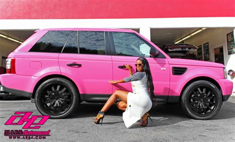land rover pink pink range rover sport by al ed autoevolution