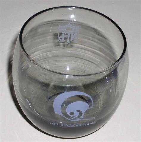 vintage glass l los angeles rams l a rams vintage beverage glass cups mugs