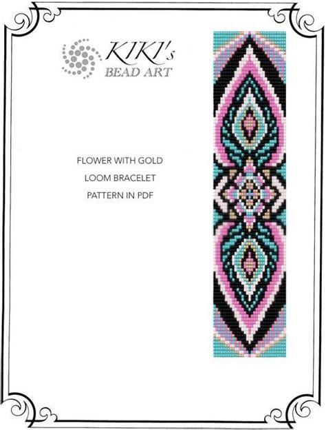 the glass bead pdf 25 beste idee 235 n loom bracelet patterns op